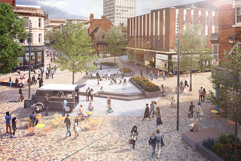 Wolverhampton city centre transformation coming soon